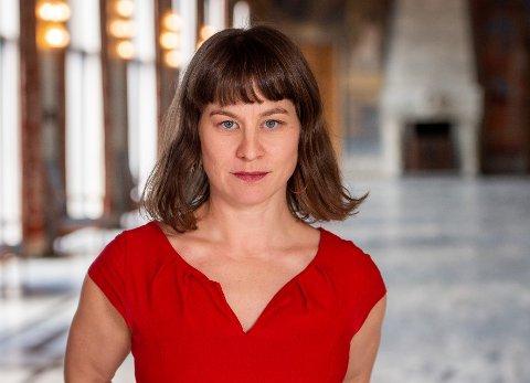 LEGGES NED: Rina Mariann Hansen sier at de ansatte på Fredensborg bosenter i dag fikk vite at institusjonen legges ned på nyåret.
