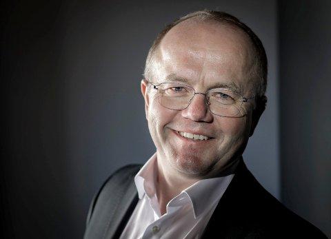 Per-Arild Konradsen i FIRST Scandinavia var en av foredragsholderne under årets Innovasjonstalen 2019.
