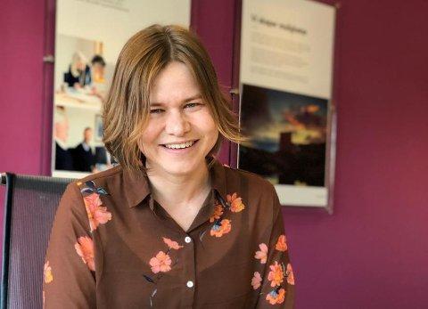 Fornøyd: Liina Veerme er glad intensjonsavtalen er på plass og trekker mange fellesnevnere mellom de to selskapene.