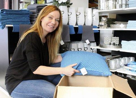 Cecilie Heldahl Larsen har bestemt seg for å legge ned butikken i Fauske. For henne er det et sårt og trist kapittel som nå avsluttes. Foto: Arkiv