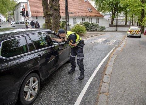 Onsdag ettermiddag ble 26 bilister bøtelagt for kjøring mot skiltingen.
