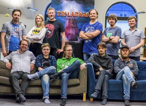 Gjengen i Rain Games har fått folkefinansiert støtte til å utvikle et nytt spill fra en amerikansk tegneserie. Foto: Rain Games