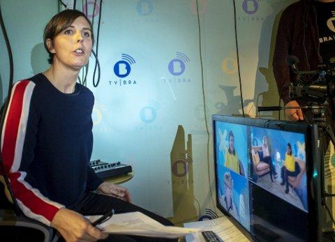 GLAD: Sjefredaktør Camilla Kvalheim er i gang med å gjøre TV Bra til landsdekkende kanal. Nå skal hun samarbeide med TV 2. FOTO: EIRIK HAGESÆTER