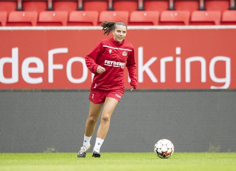 Cecilie Radisch Kvamme kom hjem til Bergen og Sandviken i sommer etter å ha spilt ett år i West Ham. Foto: Anders kjølen