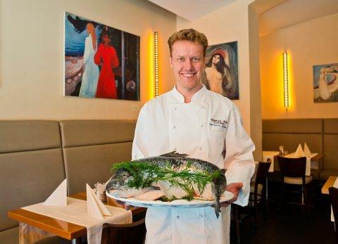 Kenneth Gjerrud fra Drammen har drevet en stor kantine i Berlin siden 2004. – Hektisk, men veldig givende, mener han.
