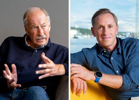 TAR OVER: Johan Kaggestad overlater stafettpinnen til sønnen Mads Kaggestad i rollen som ekspertkommentator under TV 2s Tour de France-sendinger.