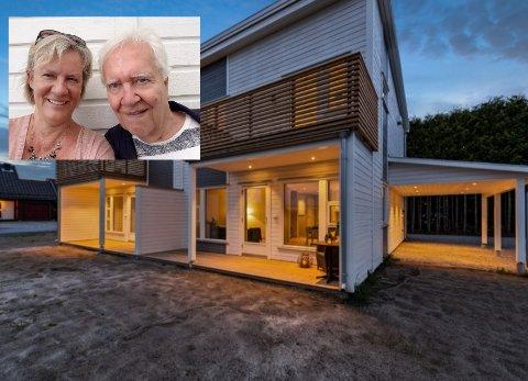 KJØPT: Berit Lovise og Tore Gjævert har kjøpt seg hus i Hokksund, selv om de aldri har vært her før og kjente ingen herfra.