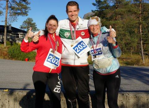 I det aller første Eikefjord Maraton i oktober 2016 deltok mellom andre Jeanette Kjellevold Aase, Frank van Rijn og Ann-Jeanette Mølster, på halvmaratonløparardistansen.