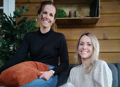 NYTT TILBOD: Søstrene Marthe (t.h) og Kathrine Sjøvoll har starta sitt eige firma og skal samarbeida med Jostein Mo i Privatmegleren Sogn.