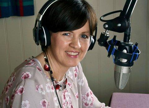 Sjef: Sølvi Olimb er redaktør og daglig leder i Radio Øst med base i Råde.