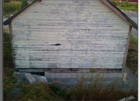 Fikk tips: I 2013 fikk kommunen tips om en ny Leca-mur, men  saksbehandleren mente dette ikke var søkepliktig.
