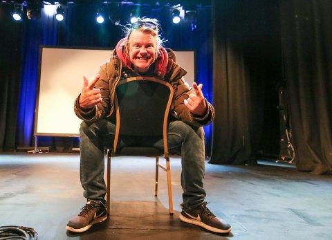 Hyllest: Alex Rosén kommer til City Scene 12. og 13. oktober. Han skal fortelle historien om Norges sjøhelt Tordenskiold.