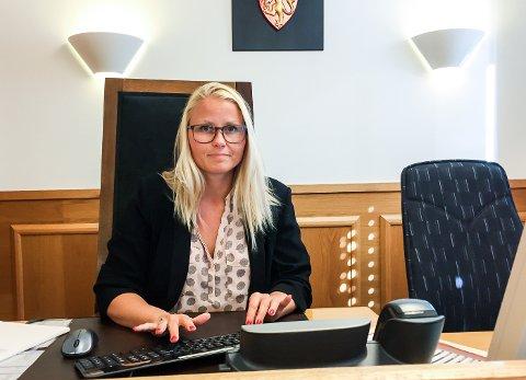 Dommer: Retten ble administrert av dommerfullmektig Sandra Mathilde Höglund.