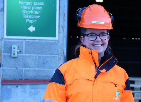 GLAD: Marielle Eriksen, informasjonskonsulent ved HRS, er veldig fornøyd med årets engasjement for strandryddedagen og strandryddeuken.