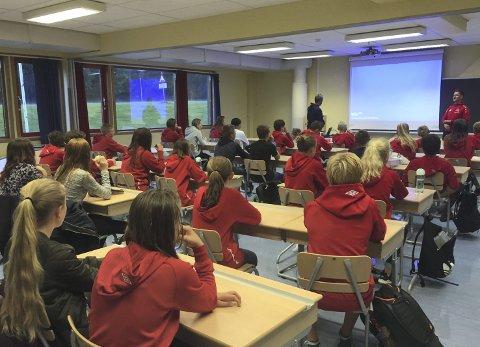 PÅGANG: Det var over 50 søkere til 32 plasser da NTG U annonserte planene om å etablere en ungdomsskole i Kongsvinger.