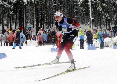 Karoline Knotten fortsetter på utviklingslandslaget i skiskyting.