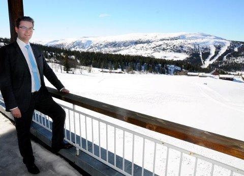 Trygve Grov ved Wadahl høgfjellshotell på Gålå omtaler situasjonen som udramatisk.