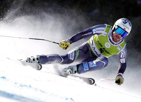 Kjetil Jansrud avsluttet super-G-sesongen med fjerdeplass.