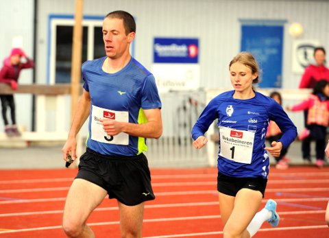 Ekteparet Arek og Ania Zielinkiewcz skal begge løpe for Lillehammer IF i Holmenkollstafettens eliteklasse.