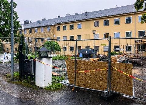 Skogli helse- og rehabiliteringssenter i Søre Ål er for tiden preget av byggearbeid. I løpet av august får institusjonen nytt inngangsparti.