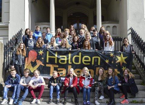 SESONG 12: Nå er det klart at elever ved både Rødsberg og de andre ungdomsskolene, Risum, Strupe og Aremark, kan glede seg til en ny sesong med HaldenTalentet.