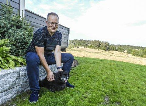 FRITT ORD: Stig Aarbu er ordførerkandidat for Aremark Ap.