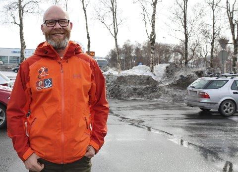 Viktig: Trond Are Rasmussen, markedssjef i Helgeland Event forklarer at Bysprinten er svært viktig for hvor Helgeland Event er i dag. foto: Benedicte Wærstad