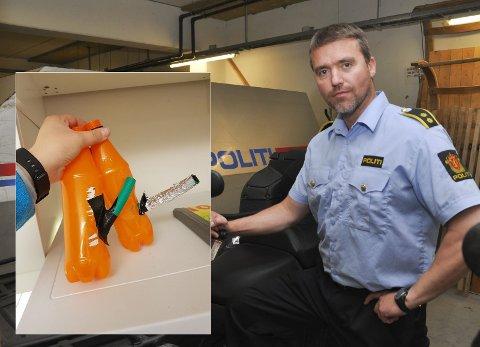 IKKE EPEDEMI: Politioverbetjent Steinar Aas Andersen mener det ikke noen epedemi i hasjbruk blant ungdommen i Alta.