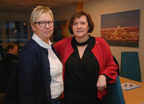 UENIGE: Wenche Pedersen er et av styremedlemmene som er dypt uenig med sin partileder i Finnmark Ap, Kristina Hansen. Nå har et ekstraordinært styremøte avgjort at representantene i fylkestinget ikke vil bli fristilt i saken om fellesnemnd.