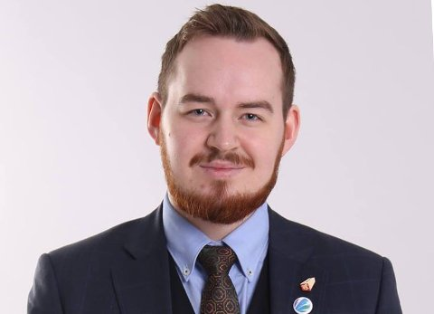BLIR SJEF: Daniel Hansen Masvik blir fra neste skoleår leder for studentparlamentet i Tromsø.