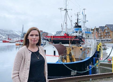 STOPPES AV OST: Fagsjef Stine Akselsen i Sjømat Norge frykter at tollvern for ost skal stoppe frihandelsavtale for fisk med Storbritannia. Øyriket krever å få eksportere ost tollfritt i bytte mot bearbeidet fisk.