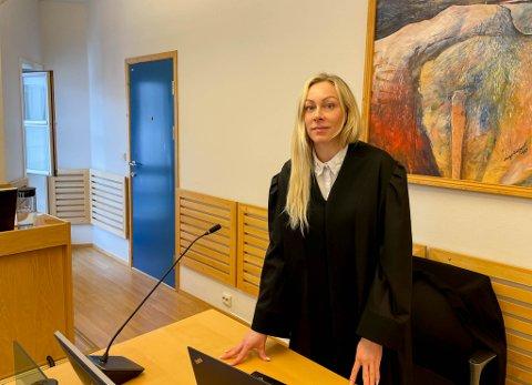 FORSVARER: Advokat Benedicte Hoaas er forsvarer for den tiltalte kvinnen.
