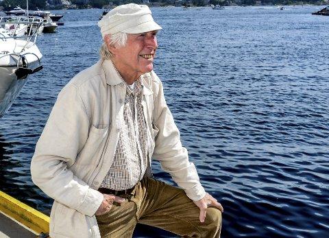 GRUGLEDER SEG: - Jeg både gleder og gruer meg litt til konserten i Skåtøy kirke, sier Alf Cranner.