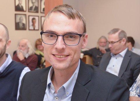 PRIORITERER BARNA: Kristian Ljåstad er kommunestyrerepresentant for Høyre.