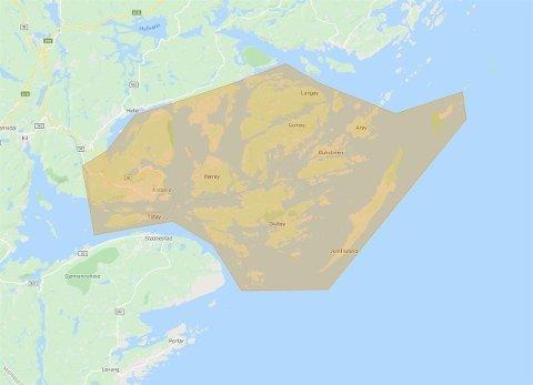 OPPHEVES: Det er nå trygt for beboere i disse områdene å bruke vannet igjen.