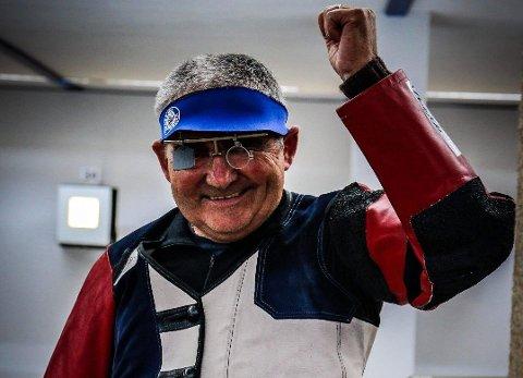 Jostein Mehl tok to nye personlege rekordar på stemne i Tyskland. (Foto: Privat).