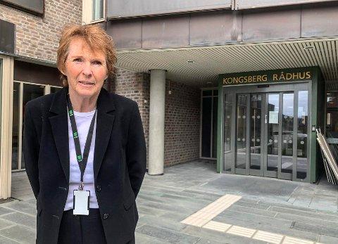 FEM TIL ER SMITTET: Ordfører Kari Anne Sand melder om fem nye smittede i Kongsberg onsdag.