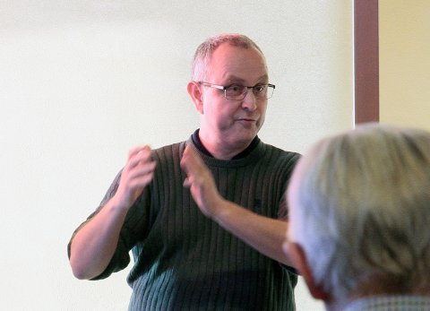 SØKER NY JOBB: Svein Gabrielsen er i dag ansatt i Kongsberg kommune. Nå søker han seg til Notodden.
