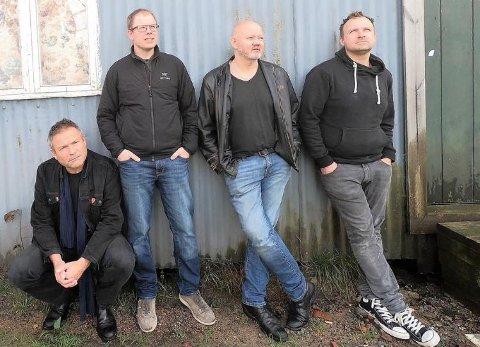 BLUES: Bandet Blues Supply holder konserter i Christians kjeller lørdag 29. mai.