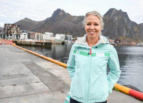 Vil satse: Administrerende direktør Hedda Felin i Hurtigruten Norge mener Lofoten er en viktig destinasjon for rederiet.