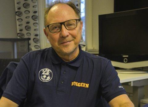 Det er åpnet for påmelding: Arne Reiersen er prosjektleder for nystartete Lofoten Viking cup, som arrangeres i august neste år. Nå er påmeldingen åpnet.Foto: Karin P. Skarby