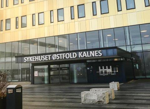 KORONASMITTE: Sykehuset Østfold har mandag 18 pasienter innlagt med påvist covid-19. To av dem ligger på intensivavdelingen.