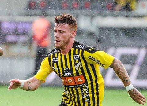 SKADET: Tobias Heintz signerte en fireårskontrakt for Göteborg-klubben Häcken før denne sesongen.