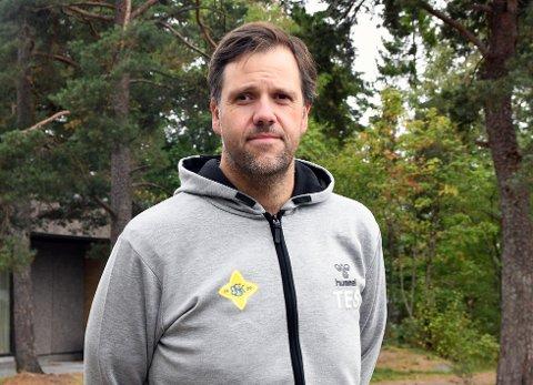 I GANG: Tom-Erik Skarpsno er glad for å ha kommet i gang som trener for Bækkelaget.