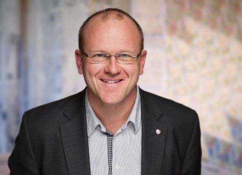 TOPP TRE: Frode Jacobsen går for en ny periode i Oslo bystyre, han er tredjekandidaten til Oslo AP.