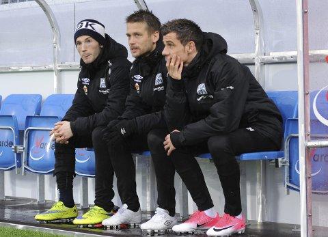 FFK-spiller: Rocky Lekaj (nærmest) bytter ut benken til Kristiansund med spill i Fredrikstad. Foto: Anders Tøsse, NTB