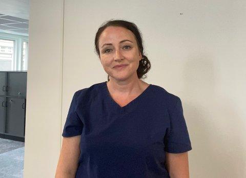 NY SKOLELEGE: Svanhild Hansen er ansatt som skolelege i Gjøvik i halv stilling.