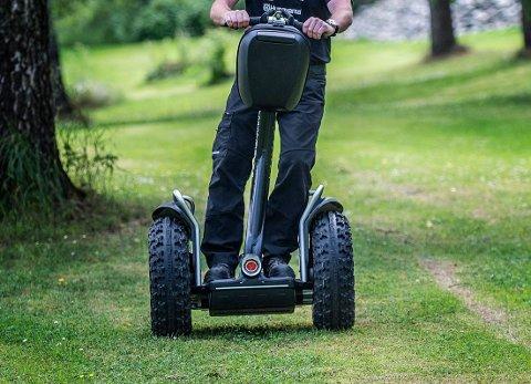 Forbudt på skolen: Ståhjulinger både med og uten styre blir forbudt på Haugjordet ungdomsskole. Illustrasjonsfoto