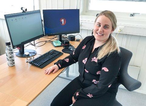 NYANSATT: Marike Martinsen har fått jobb som leder ved  SpareBank 1 Regnskapshuset SMN AS på Røros.