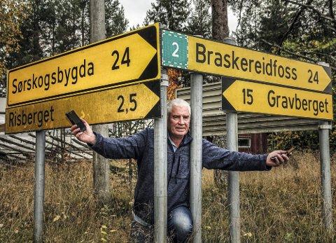 HAR ET HÅP: – Jeg har tro på at det skal komme noe ut av samtalene framover, sier Odd Fylling i Risberget.